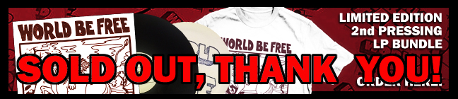 World Be Free Merchandise